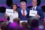 Paris va Los Angeles dang cai Olympic