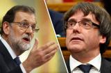 Mariano-Rajoy va Carles-Puigdemont