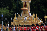 Hoa tang Vua Thai Lan