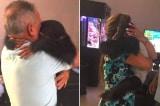 Video chú tinh tinh đoàn tụ với ân nhân làm rung động trái tim hàng triệu