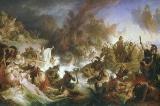 Thủy chiến Salamis: 370 tàu Hy Lạp thắng 800 tàu Ba Tư