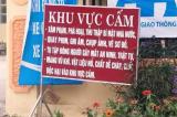 cấm quay phim chụp ảnh, Nghệ An