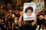 Carrie Lam, Chính phủ Hồng Kông, Luật Cấm che mặt