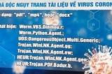 virus corona, mã độc