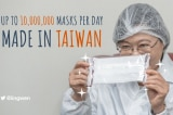 Trung Quốc giận dữ vì Đài Loan hỗ trợ khẩu trang cho thế giới