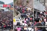 TQ: 20.000 người chen chúc đi tham quan thắng cảnh vì được miễn phí