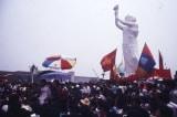 Sinh viên trên Quảng trường Thiên An Môn trước khi xảy ra sự kiện thảm sát Lục Tứ.