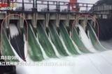 Hồ chứa lớn nhất Đông Trung Quốc mở 9 cửa xả lũ