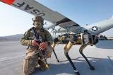 """Quân đội Mỹ dùng """"chó robot"""" tuần tra căn cứ không quân"""
