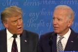 """""""Tương phản như ngày và đêm"""" trong cuộc tranh biện """"town hall"""" của TT. Trump và ông Biden"""