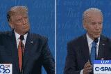 Tranh biện TT: Hai ông Trump, Biden kiềm chế ngắt lời nhau