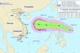 Áp thấp nhiệt đới dự báo mạnh thành bão, hướng đến các tỉnh miền Trung