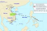 Áp thấp nhiệt đới ngay trên vùng biển các tỉnh từ Đà Nẵng đến Quảng Ngãi