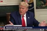 TT Trump nói với phóng viên: 'Đừng bao giờ nói Tổng thống theo cách đó'